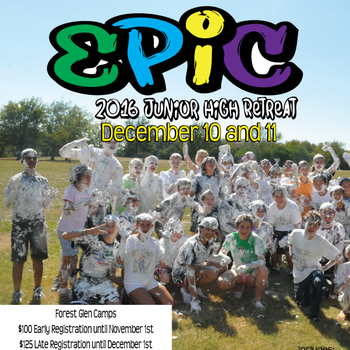 EPIC Junior High Retreat