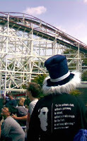 Pier Giorgio sighting at amusement park!