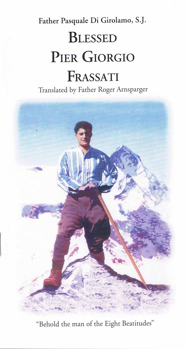 New Pier Giorgio Booklet Now Available in Bookstore!