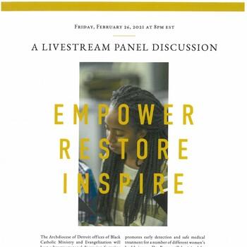 Empower - Restore - Inspire Panel Discussion