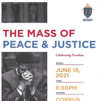 Mass of Peace & Justice