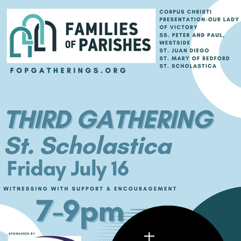 Family of Parishes - Trinity Vicariate Family 1 - Third Gathering