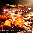 Thanksgiving Outreach – Collection began October 20