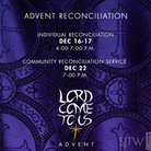 Advent Reconciliation Services