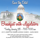Housing for All Legislative Breakfast – January 28