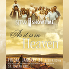 SHOWTIME: As it is in Heaven – January 31 – Cancelled