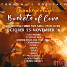 Thanksgiving Collection –Begins October 20