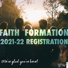 2021-22 Faith Formation Registration