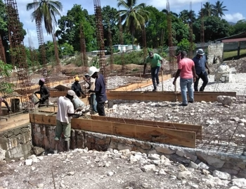 Progress Update on St Catherine's construction in Bouzy