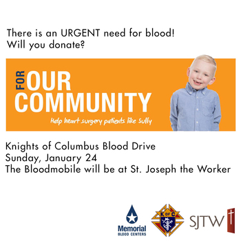 KC Blood Drive – January 24