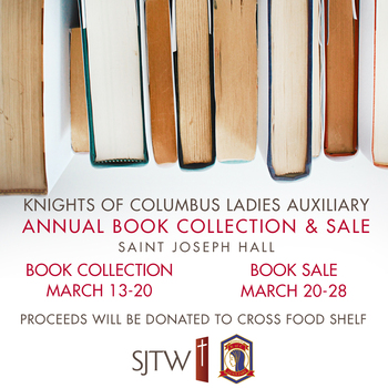 Knights of Columbus Auxiliary Book Sale