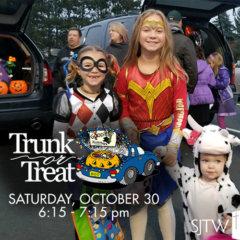Trunk or Treat – October 30
