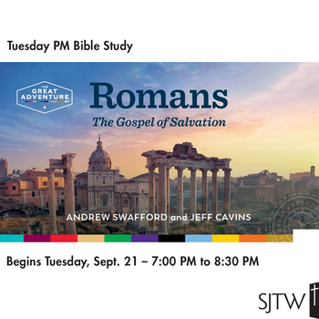Tuesday PM Bible Study – Begins September 21