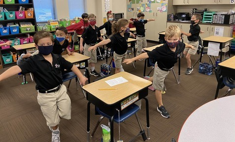 Second grade explores 'mindfulness'
