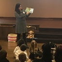 Guest Author Reads to CtRCS 1st Grade