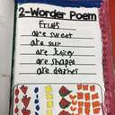 Our 2nd Grade Poet-tea Shows Artistic Skills