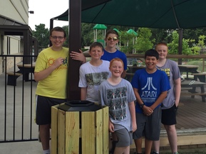 Boy Scouts Beautify CtR Playground