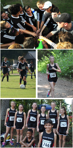 Soccer and Cross Country at CtRCS