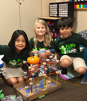 2nd Grade S.T.R.E.A.M. Project Saves Patty the Pumpkin