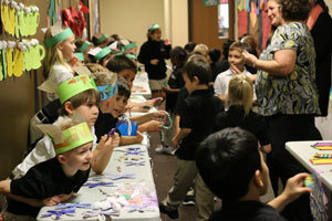 Students Learn Buying, Selling at St. Nick's Marketplace