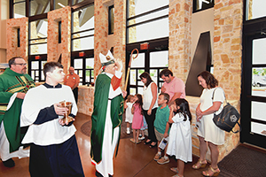 Christ the Redeemer Catholic Church Dedicates New Activity Center