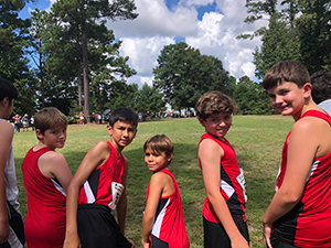 Cross Country Running Results