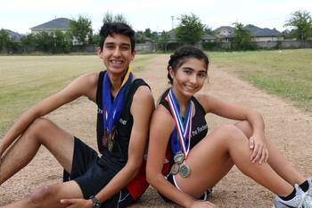 Athletes lead by example in cross country