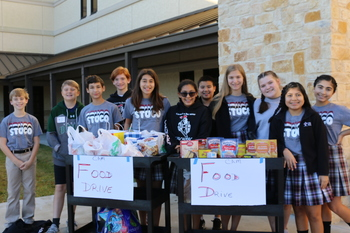 Crusaders give from the heart for Thanksgiving