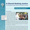 A Church Seeking Justice: The Challenge of Pope Francis to the Church in Canada
