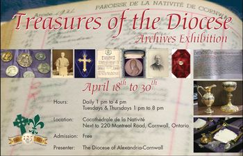 Treasures of the Diocese Archives Exhibition