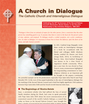 A Church in Dialogue – The Catholic Church and Interreligious Dialogue