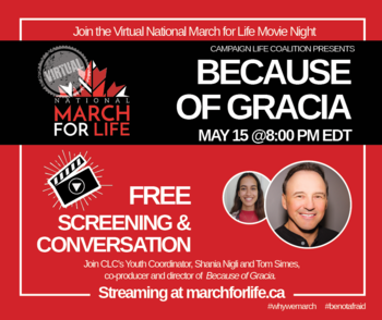 March for Life Closing Event- Movie Night