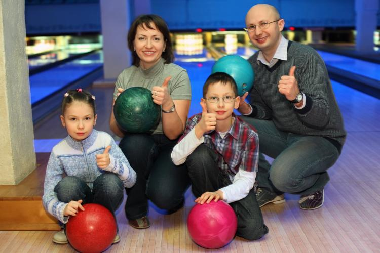 Family Bowling Challenge