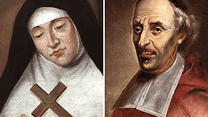 Welcoming Canada's two new Saints -- François de Laval and Marie of the Incarnation