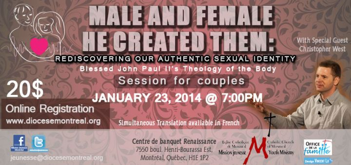 Session for Couples: Male and Female He Created Them