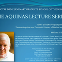 Aquinas Lecture at Seminary