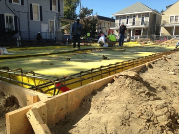 Concrete Foundation to be Poured