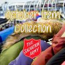 Salvation Army Item Collection for October