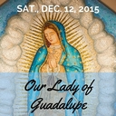 Our Lady of Guadalupe Schedule 2015