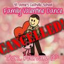 St. Anne's School: Family Valentine Dance CANCELLED