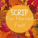 SCRIP for Harvest Fest 2015