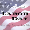 Office Closed Labor Day