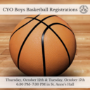 CYO Boys Basketball Registrations
