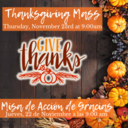 Thanksgiving Mass 2018