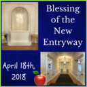 Blessing of the School's New Entryway