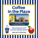 Coffee in St. Anne's Plaza