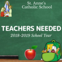St. Anne's School: Teacher Positions