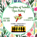 "Daughter's of Isabella ""Open Meeting"""