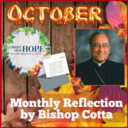October Reflection By Bishop Cotta