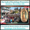 Our Lady of Guadalupe Procession 2019